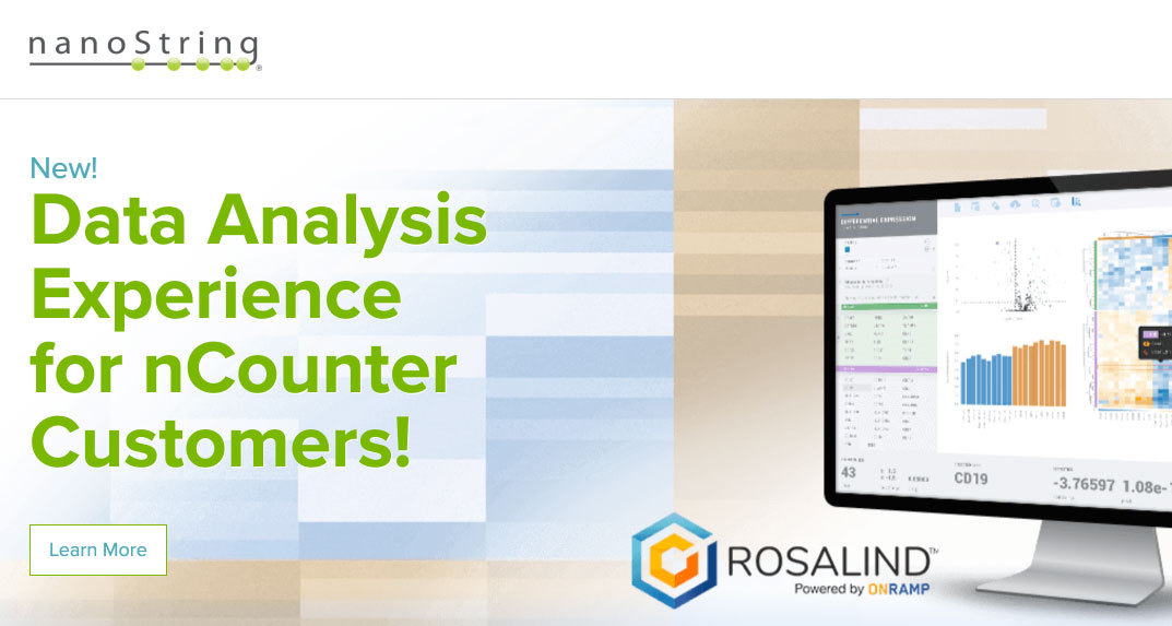 ROSALIND® Analysis Platform is Now Available to all nCounter Users