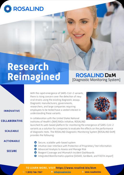 Rosalind DxM Quick Start Guide